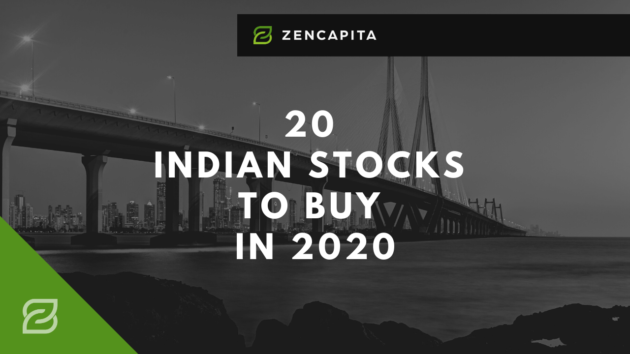 20 Indian Stocks To BUY In 2020